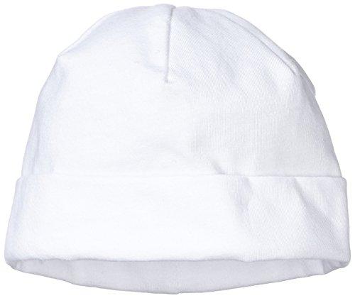 Sterntaler Unisex Beanie, Alter: ab 5-6 Monate, Größe: 43, Weiß