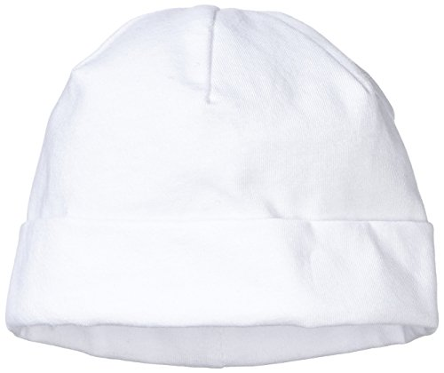 Sterntaler Unisex - Baby Mütze Beanie, Gr. 39, Weiß (Weiß 500)