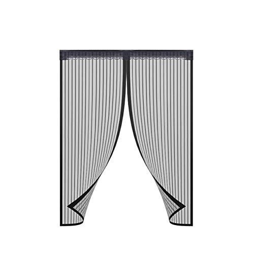 72'X 80' Tenda da Porta Antefly Magnetica, Tenere Gli Insetti per La Porta Zanzara Fuori Schermo Facile da Installare Automaticamente per Balcone Soggiorno 180 * 200 Cm
