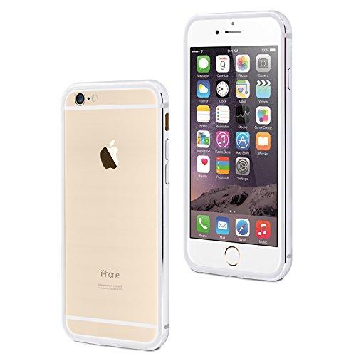 Protectores Muvit MUBKC0869 Parachoques/borde de aluminio para el iPhone 6 / 6S Plus Silver