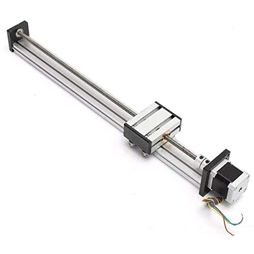 DXX-HR Stroke 400mm Actuador CNC Linear Motion Lead Screw Slide Stage con 42 Stepper Motor Lineal Motion Products