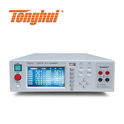 Tonghui TH2518 Multicanaux de mesure de résistance 10 uΩ-200 kΩ, scanner de température