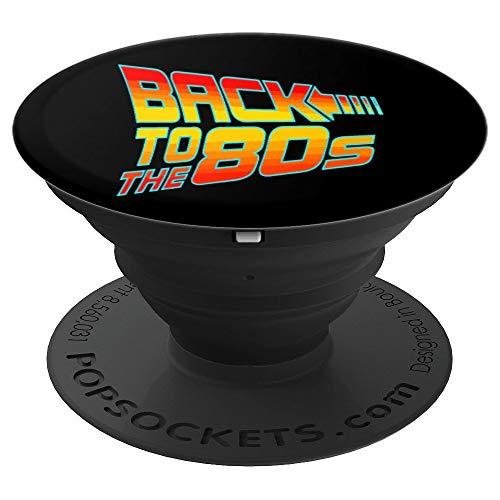 Zurück zu den 80ern Scifi Graphic 70s Kleidung Geschenk - PopSockets Ausziehbarer Sockel und Griff für Smartphones und Tablets