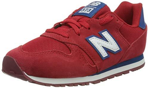 New Balance 373, Zapatillas Niños, Rojo (Team Red), 35.5 EU