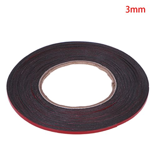 fxco 3–20mm 25M Rojo Cinta adhesiva de doble cara adhesivo para teléfono móvil de pantalla LCD