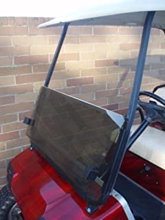Franklin TINTED Windshield for Club Car DS Golf Cart for years 2000+