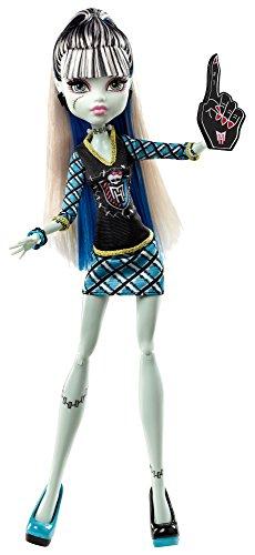 Mattel - BDF08 - Poupée Mannequin - Monster High - Frankie Stein Le Monde Du Sport