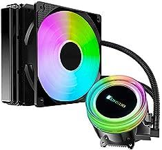 Liquid CPU Cooler - Jonsbo TW2-120 120mm Fan with PWM Speed Adjustable - Intel & AMD AM4 Platforms