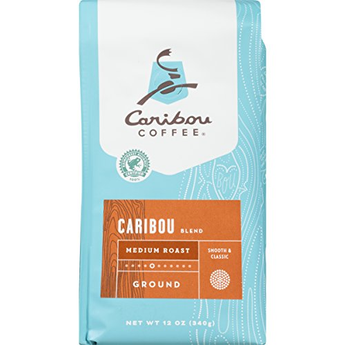 Caribou Coffee, Caribou Blend, Ground, 12 oz. Bags (2 Pack), Smooth &...