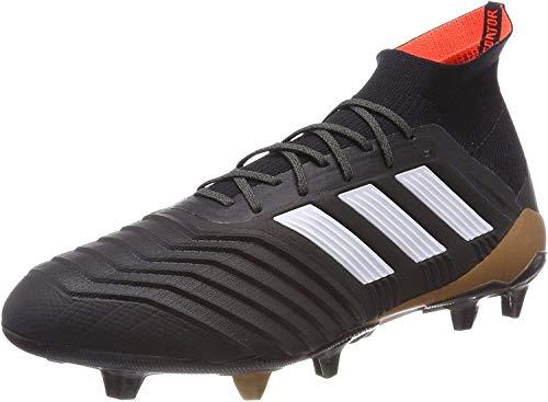 adidas Predator 18.1 Fg, Scarpe da Calcio Uomo, Nero (Cblack/Ftwwht/Solred), 41 1/3 EU