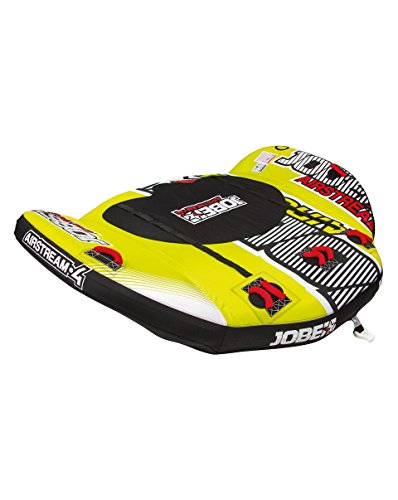 Jobe Towables Airstream 4P, Yellow/red, One Size, 230415003PCS