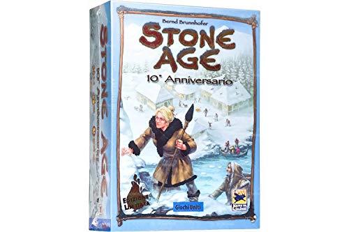 Juegos Unidos Stone Age 10Aniversario Juego de Mesa, Multicolor, gu640