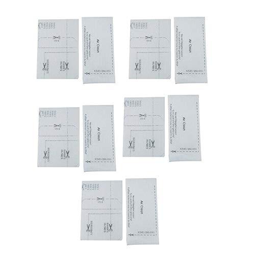 10pcs Filtres pour Aspirateur Air Clean pour Miele S240 S250 S290 S300 S400 S500 S600 Smthome
