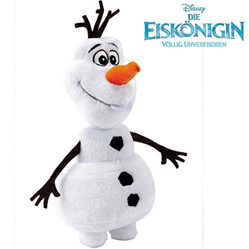 Plüschfigur Olaf Schneemann von Disney, 20 cm || Disney Die Eiskönigin 20 cm Plüsch Figur Stofftier Plüschtier