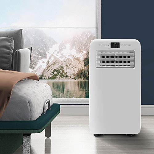 12,000 BTU,Portable Air Conditioner,Air Cooler,Dehumidifier, Fan for Rooms up to 400 sq ft,Control with Remote,LCD Display & Touch Button