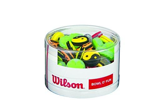 Wilson Verschiedene Vibrationsdämpfer für Tennisschläger, Bowl O Fun, 75er Box, WRZ537800