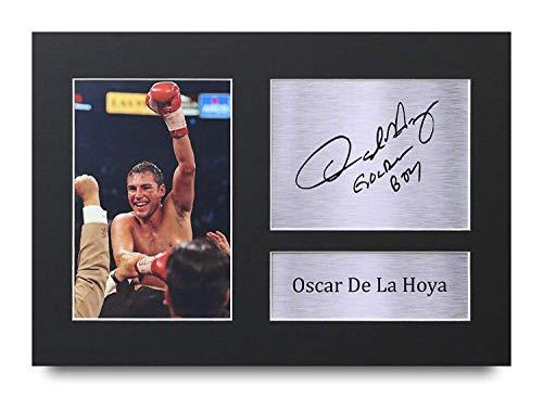 HWC Trading Oscar De La Hoya A4 Sin Marco Regalo De Visualiz