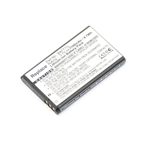 subtel® Batería de Repuesto BATT11L PX-1295 PX-1296 LD-1W LD-3W VIV-VB-4C VTV-VB-5C per Midland XTA-510 XTC-300 XTC-300VP4 XTC-350 MDV-2250.HD MDV-2250.IR 1100mAh XRA-510 Accu Sustitución Camara