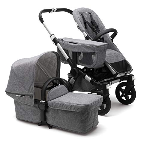 Find Bargain Bugaboo Donkey 2 Mono Baby Stroller, Foldable Stroller, Converts into Twin Side-by-Side...
