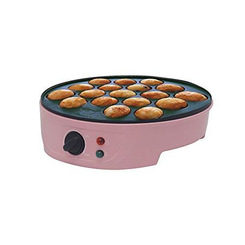 Ytrew Takoyaki Maker máquina eléctrica para hacer bolas de pulpo japonesas Takoyaki, 18 ranuras, duarble, 1 unidad