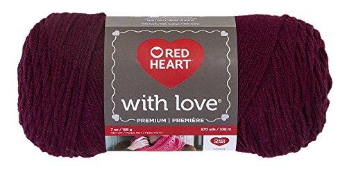 Coração Vermelho com Amor, Sólido, Solid - Merlot, 1