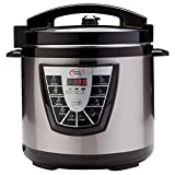 Power Cooker Plus 1013 Power Cooker, 16.6 x 16.6 x 18.1, Black