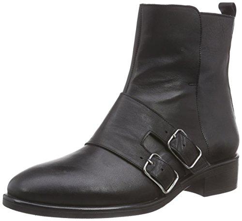 Inuovo Damen REESE Kurzschaft Stiefel, Schwarz (BLACK), 40 EU