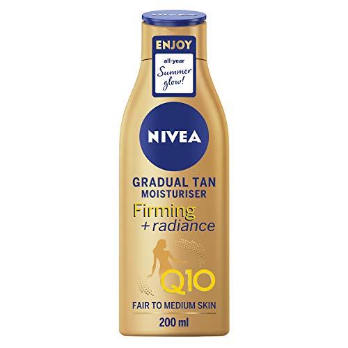 Nivea Q10 Straffende + Radiance Gradual Tan 400 ml