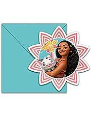 بطاقات دعوة 6 حبات - ديزني