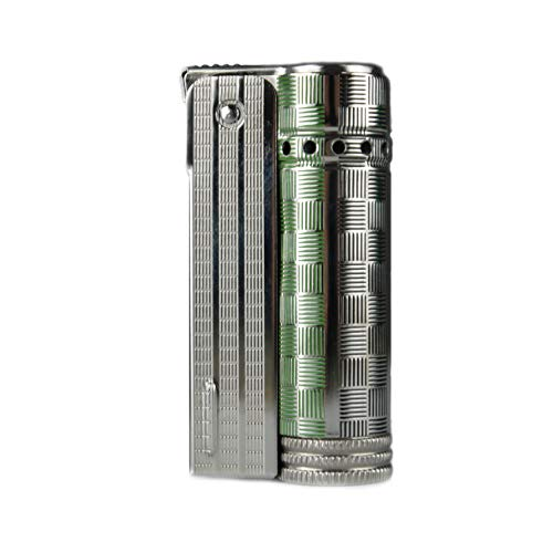 Vintage IMCO Lighter Junior 6600 Made in Austria Green Squares New Old Stock
