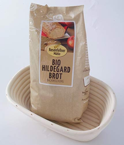 Set - BIO Hildegard Brot Backmischung & Gärkörbchen