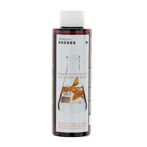 Korres Sunflower & Mountain Tea Shampooing pour cheveux colorés 250 ml