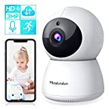 Security Camera, Smart Home Camera Wifi IP 3MP HD Indoor Wireless Baby Monitor