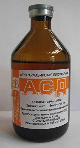 ASD 2 Fraktion (2 x 2 x 4) Antiseptischer Dorogov's Stimulator Armavir 100 ml