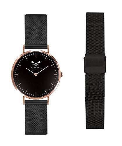 Barbosa Orologio Uomo Donna (orologio barbosa maglia milano nero)