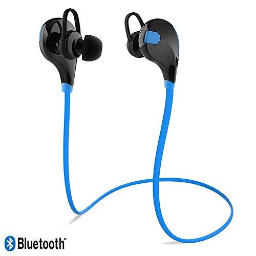 Karylax Bluetooth-Kopfhörer, Nackenbügel, Blau, Sport, für Altice S60 / Altice S61 / Altice S41 / Startrail 7 / Startrail 8 / Startrail 9