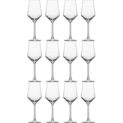 Schott Zwiesel 112412 Pure - Copas de vino blanco (408 ml, 23,2 cm, 12 unidades)
