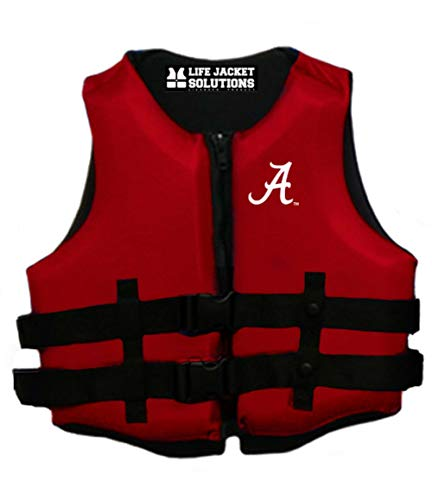 Great Price! University of Alabama U S Coast Guard Approved Life Vest, XXX-Large