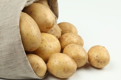Rare Ukrainian Organic Vegetable True Potato seeds 'Fermer' (Solanum...