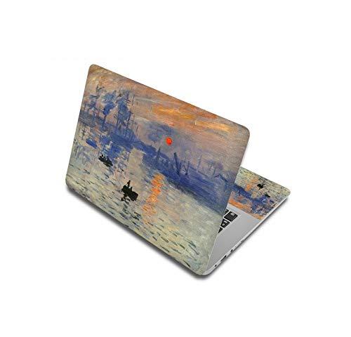 Peach-girl - Carcasa para HP/Xiaom Pro 13.3 / ASUS / Mac Air, pegatinas portátiles de pintura al óleo para 11', 12', 14', 15' y 17, 38 x 27 cm