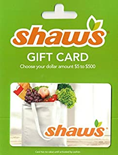 Shaw's Gift Card