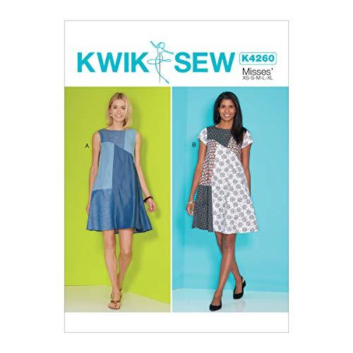 KWIK-SEW PATTERNS Kwik Women's Dress Sewing Patterns, Sizes XS-XL