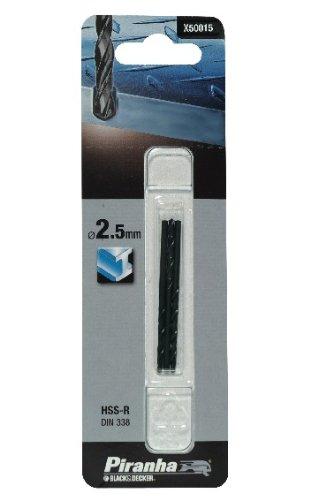 Piranha HSS-R Metal Drill Bit, 3 x 1.5 mm
