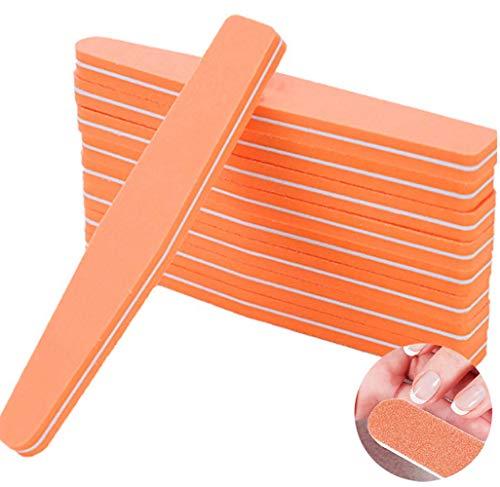 YUKAKI Nagelfeile Set Professionelle Nagelfeilen Doppelseitige Nagelfeilen Buffer Schmirgel Boards Nagel Buffer Block für natürliche Nägel Gel Nägel (10 Stück)