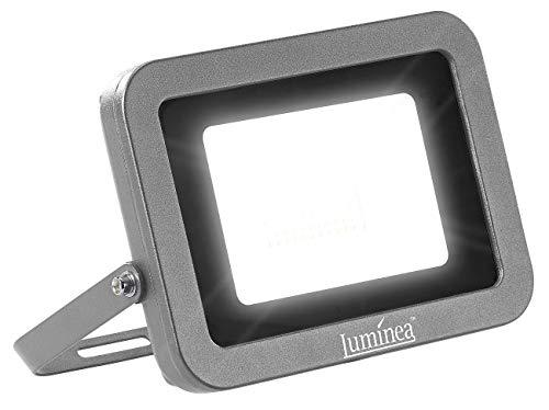 Luminea LED Strahler: Wetterfester LED-Fluter, 50 W, 4.500 lm, IP65, 6.500 K, tageslichtweiß (LED-Fluter außen)
