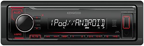 Kenwood KMM de 204Digital Media Receiver Negro