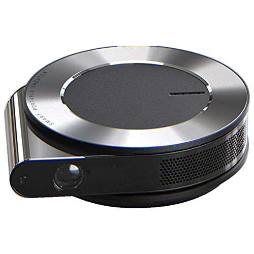 SBNM Mini proyector, diseño Incorporado Inteligente del Eje, no se Requiere un Soporte, inalámbrico en la Misma Pantalla, Control de contraseña específico para niños, Adecuado para la Familia