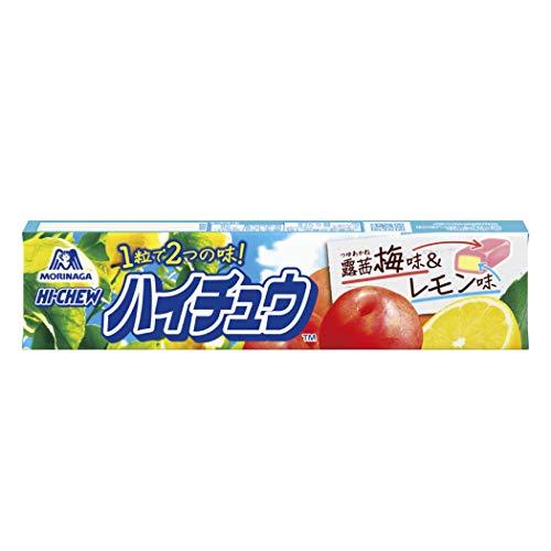 森永製菓 ハイチュウ 露茜梅&レモン 12粒 ×12本