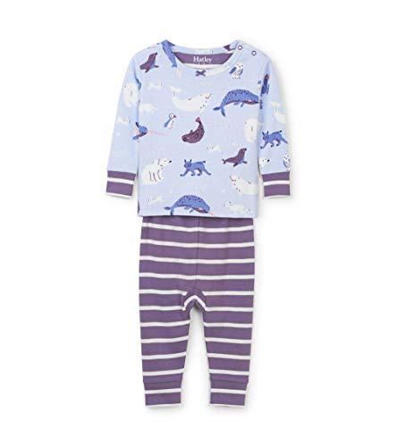 Hatley Mini Organic Cotton Long Sleeve Pyjama Sets Conjuntos