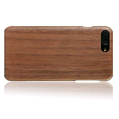WOLA für iPhone 7 Plus / 8 Plus Holzhülle AIR Handyhülle aus Aramid und Holz - Bambus Walnuss